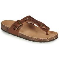 Pantofi Femei Sandale și Sandale cu talpă  joasă André RILA Camel
