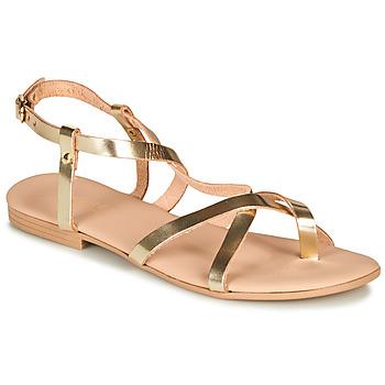 Pantofi Femei Sandale și Sandale cu talpă  joasă André RAFFOLE Auriu