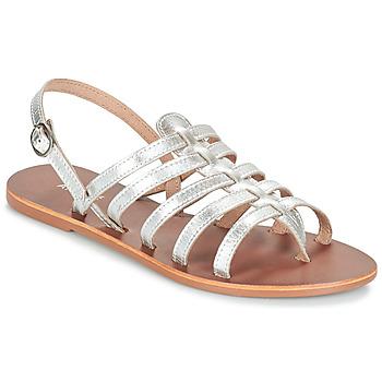 Pantofi Femei Sandale  André ROSIANE Argintiu