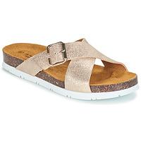 Pantofi Femei Papuci de vară André RICKA Auriu
