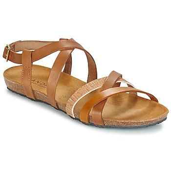 Pantofi Femei Sandale și Sandale cu talpă  joasă André ATTLAS Maro