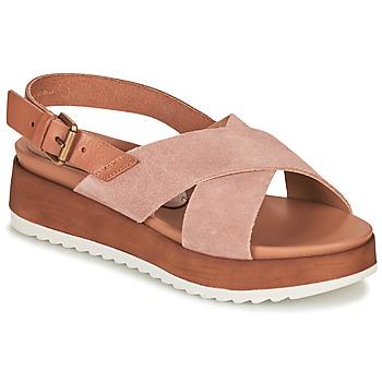 Pantofi Femei Sandale și Sandale cu talpă  joasă André REINE Roz