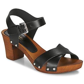 Pantofi Femei Sandale și Sandale cu talpă  joasă André BONGO Negru