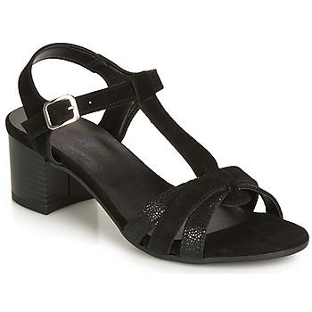 Pantofi Femei Sandale și Sandale cu talpă  joasă André CAROLA Negru