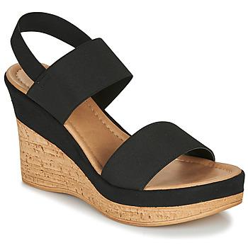 Pantofi Femei Sandale și Sandale cu talpă  joasă André RATAPLAN Negru