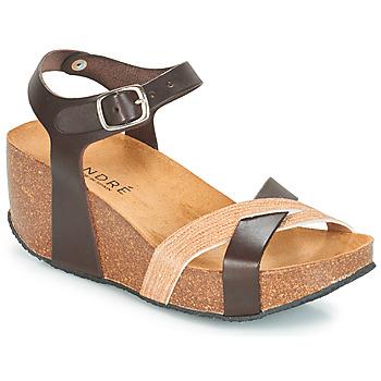 Pantofi Femei Sandale  André HERA Maro