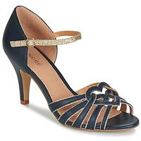 Pantofi Femei Sandale și Sandale cu talpă  joasă André CAGLIARI Bleumarin