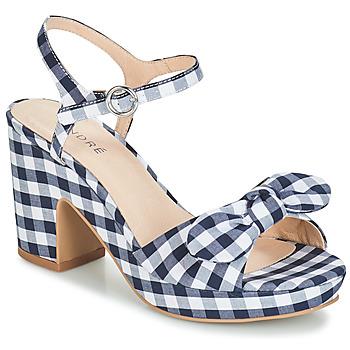 Pantofi Femei Sandale și Sandale cu talpă  joasă André SPRING Albastru