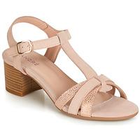 Pantofi Femei Sandale și Sandale cu talpă  joasă André CAROLA Nude