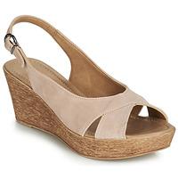 Pantofi Femei Sandale și Sandale cu talpă  joasă André DESTINY Nude