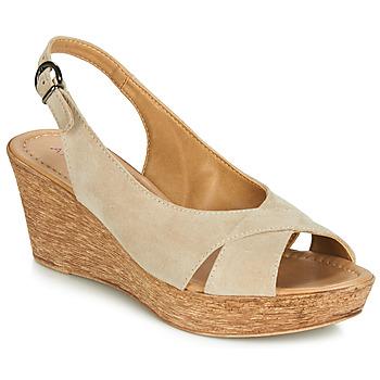 Pantofi Femei Sandale și Sandale cu talpă  joasă André DESTINY Bej