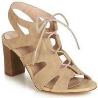 Pantofi Femei Sandale și Sandale cu talpă  joasă André ROMANESQUE Bej
