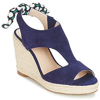 Pantofi Femei Sandale și Sandale cu talpă  joasă André SWING Albastru