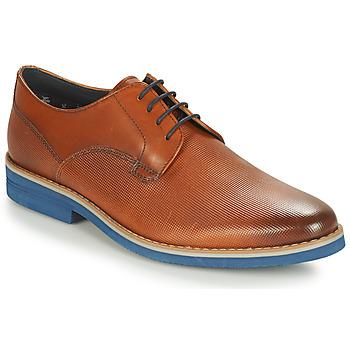 Pantofi Bărbați Pantofi Derby André CANOE Coniac / Albastru
