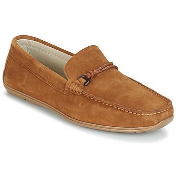 Pantofi Bărbați Mocasini André TRISSOT Camel