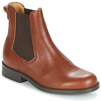 Pantofi Femei Ghete Aigle ORZAC W 2 Coniac