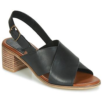 Pantofi Femei Sandale  Kickers VICTORIANE Negru
