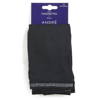 Accesorii textile Femei Sosete André MARGUERITE Negru