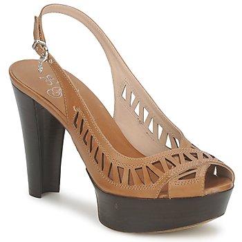 Pantofi Femei Sandale și Sandale cu talpă  joasă Fabi CALECHE Maro
