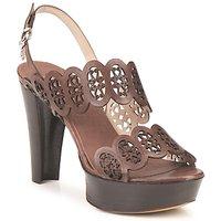 Pantofi Femei Sandale și Sandale cu talpă  joasă Fabi PANAMA Maro