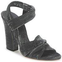 Încăltăminte Femei Sandale și Sandale cu talpă  joasă Casadei 1166N122 Nero
