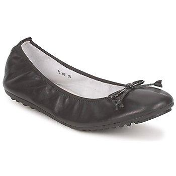 Pantofi Femei Balerin și Balerini cu curea Mac Douglas ELIANE Negru