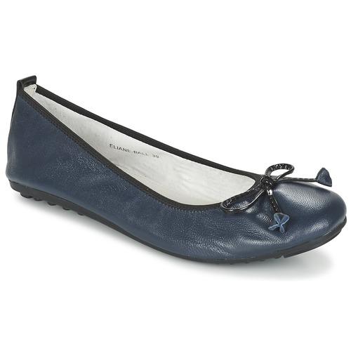 Pantofi Femei Balerin și Balerini cu curea Mac Douglas ELIANE Albastru