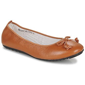 Pantofi Femei Balerin și Balerini cu curea Mac Douglas ELIANE Castaniu