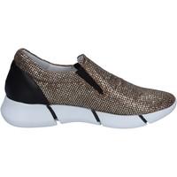 Pantofi Femei Pantofi Slip on Elena Iachi Mocasini BT588 Aur