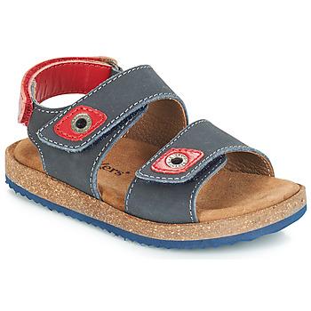 Pantofi Băieți Sandale și Sandale cu talpă  joasă Kickers FIRST Bleumarin