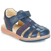Pantofi Băieți Sandale  Kickers PLATINIUM Albastru