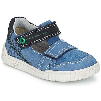 Pantofi Băieți Sandale și Sandale cu talpă  joasă Kickers WHATSUP Albastru