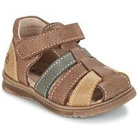 Pantofi Băieți Sandale  Citrouille et Compagnie FRINOUI Maro / Multicolor
