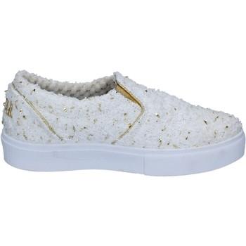 Pantofi Femei Pantofi Slip on 2 Stars BZ525 Alb