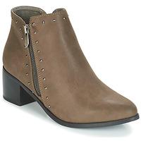 Pantofi Femei Botine LPB Shoes JUDITH Kaki