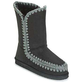 Pantofi Femei Cizme casual LPB Shoes NATHALIE Negru