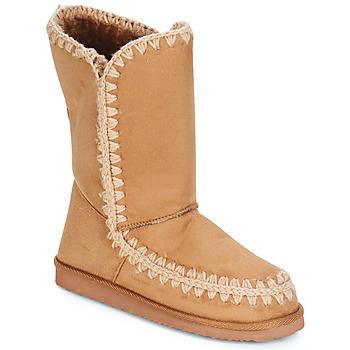 Pantofi Femei Cizme casual LPB Shoes NATHALIE Camel