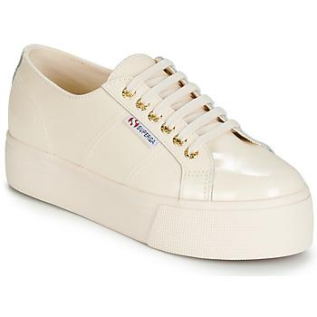 Pantofi Femei Pantofi sport Casual Superga 2790 LEAPATENT Ecru