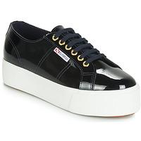 Pantofi Femei Pantofi sport Casual Superga 2790 LEAPATENT Bleumarin