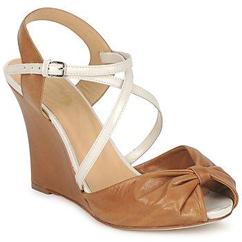 Pantofi Femei Sandale și Sandale cu talpă  joasă Paul & Joe MYRTI Camel / Ecru