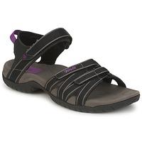 Încăltăminte Femei Sandale și Sandale cu talpă  joasă Teva TIRRA Negru / Gri