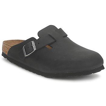 Pantofi Saboti Birkenstock BOSTON PREMIUM Negru