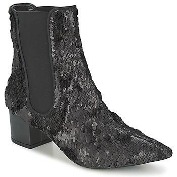 Pantofi Femei Ghete RAS ANAHI Negru
