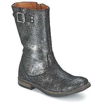Pantofi Fete Cizme casual Shwik WACO BOTTE Negru