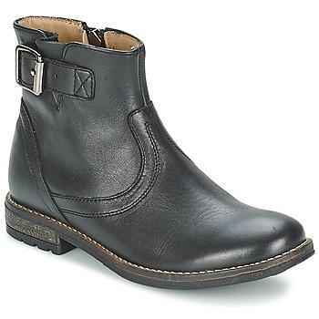 Pantofi Fete Ghete Shwik WACO BASE Negru