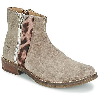 Pantofi Fete Ghete Shwik TIJUANA WILD Taupe