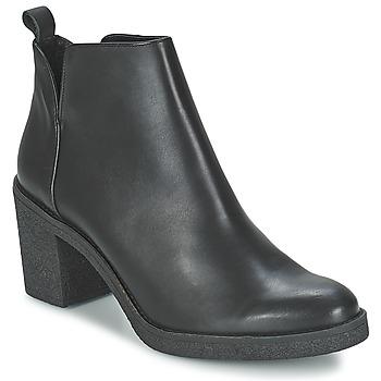 Pantofi Femei Botine Miista KENDALL Negru
