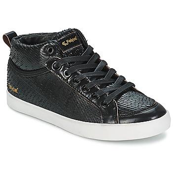 Încăltăminte Femei Pantofi sport stil gheata Feiyue DELTA MID DRAGON Negru