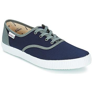 Pantofi Pantofi sport Casual Victoria INGLESA LONA BICOLOR Bleumarin