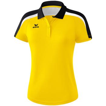 Îmbracaminte Femei Tricou Polo mânecă scurtă Erima Polo femme  Liga 2.0 jaune/noir/blanc